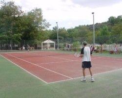 Tennis au camping