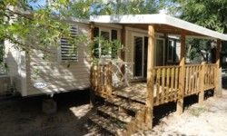 "Camping Arleblanc  : Mobile Home ""Top Comfort"" 3 bedrooms"