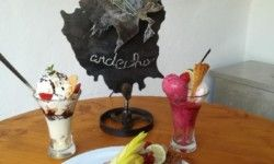 Domaine Arleblanc's Ice cream parlor