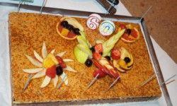 restaurant Arleblanc : Geburtstagskuchen
