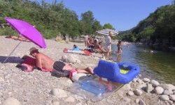 Camping Arleblanc : accès direct à la rivière en Ardeche