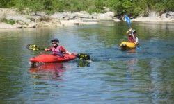 Camping Arleblanc : Die ideale Strecke um mit das Kanu