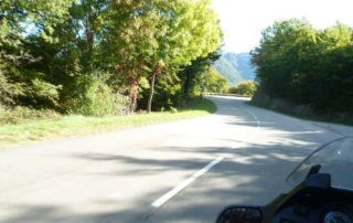 Motorbike ride in Ardèche